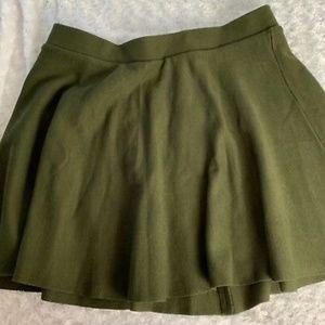 Torrid Green Size 3 Skater Skirt